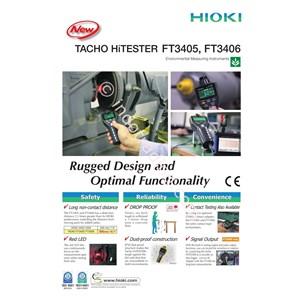 Hioki Ft3405 Tachometer