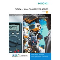 Hioki 3257-50 Hitester Digital Multimeter 1