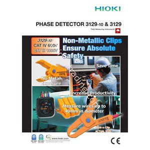 Hioki 3129 10 Non Contact Phase Detector