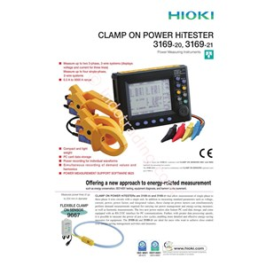 Hioki 3169 Clamp On Power Hitester
