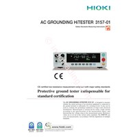 Hioki 3157 01 Ac Grounding Hitester 1