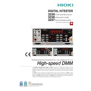 Hioki 3237 3237-01 Digital Hitester Multimeter