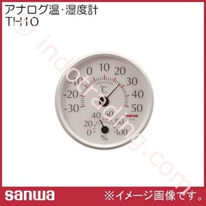 Sanwa Th10 Analog Thermo Hygro Meter