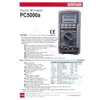 Sanwa Digital Multimeter Pc5000a 1