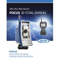 Spectra Focus 30 Reflectorless Total Station 1