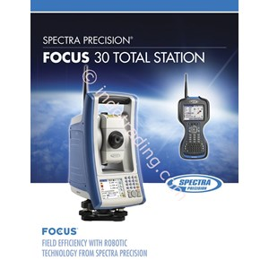 Spectra Focus 30 Reflectorless Total Station