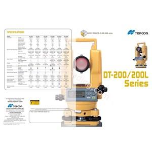 Topcon Dt-200 Seri Digital Theodolite