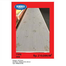 Panel Dinding PVC Texcoco Tipe 008