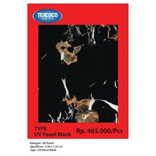 Panel Dinding UV Texcoco Tipe 93143 Black