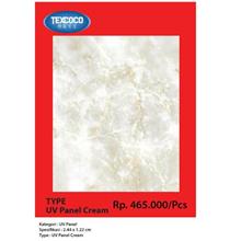 Panel Dinding UV Texcoco Tipe 93143 Cream