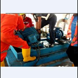 Pekerjaan Perbaikan Pompa di TBBM Sibolga By Bina Agung Lestari