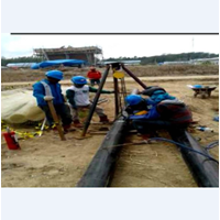 Pekerjaan Pamasangan Jalur Pipa Hydrant di PT. Medco Aceh Timur By Bina Agung Lestari