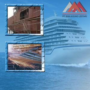 Kontruksi Kapal Baja By PT. Bina Agung Lestari