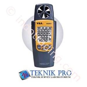 Va8021 Suhu Kelembaban Vane Anemometer