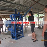 Jual Mesin Press Batako Murah