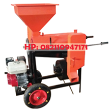 Portable Coffee Huller Machine - Wheeled Car Huller Machine