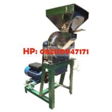 Mesin Penepung Cabai / Mesin Giling Cabe (Disk mill) Stainless Steel