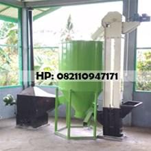 Mesin Vertical Dryer dengan  Elevator - Mesin Peng