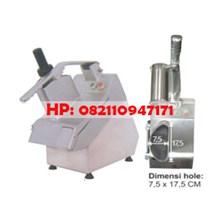 Semi Circular Hopper Potato Slicer Machine