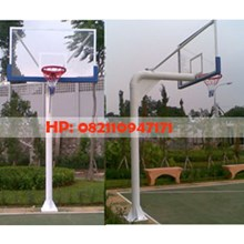 Pole Planting Basketball Hoop