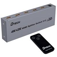 Matrix HDMI Switch D-Tech DT-7432