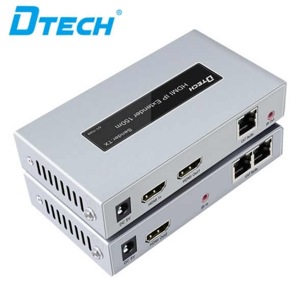 HDMI Extender IP POE 150m DTECH DT-7058