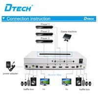 HDMI Matrix  4x2 DT-7442 Murah 5