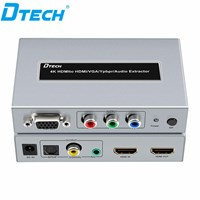 HDMI Converter to HDMI + VGA + YPbPr + Audio Converter DT-7049