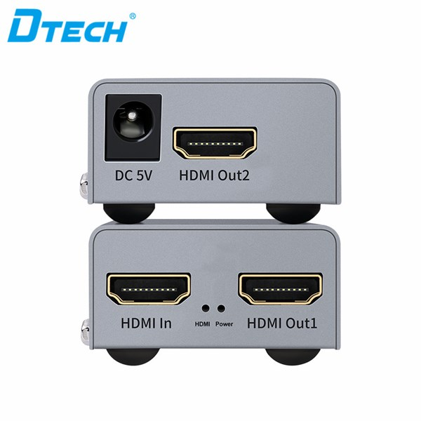 HDMI Extender 50 M with Loop out (tanpa IR) + 2 adaptor DT-7009C
