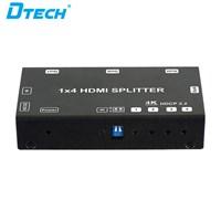 Jual 4K HDMI Splitter Versi 2 - 1x4 + adaptor DT-6544 2