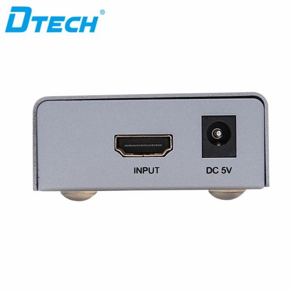 HDMI splitter 4K 1x4 + adaptor DT-7144