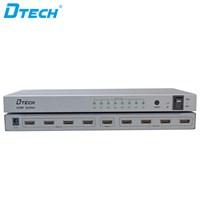 HDMI Splitter 4K 1x8 + adaptor DT-7148
