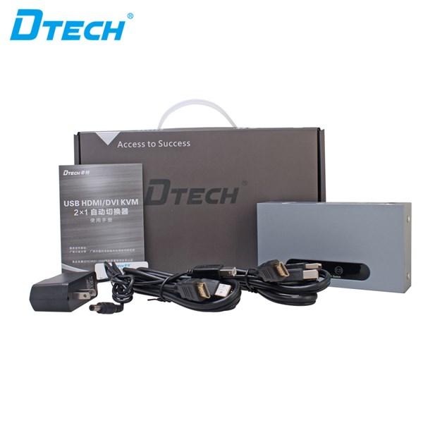 USB/HDMI KVM Switch 2x1 DT-8121