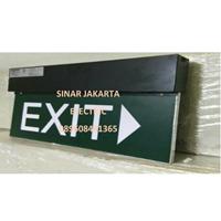Exit Box Gantung