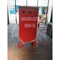 BOX PANEL merah powder coating