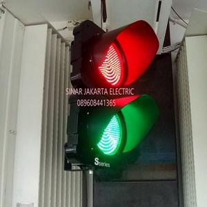Lampu Traffic 20cm Merah Hijau S Series