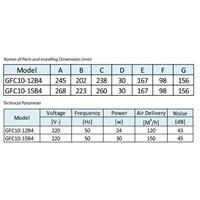 Distributor Kipas Angin Ceiling Gfc10-12B4 3