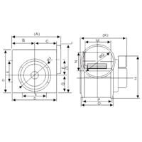 Jual In - Line Duct Fan Tipe GFIF10-16A 2
