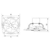 Jual Industry Ventilation Tipe GFAF-24C(9