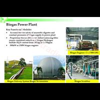 Pembakit Listrik Biogas 1