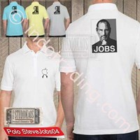 Kaos Polo Raglan Apple Ipad Iphone Ipod Mac Steve Jobs Murah 5