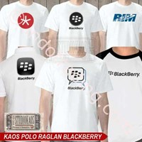 Jual Kaos Polo Raglan Blackberry