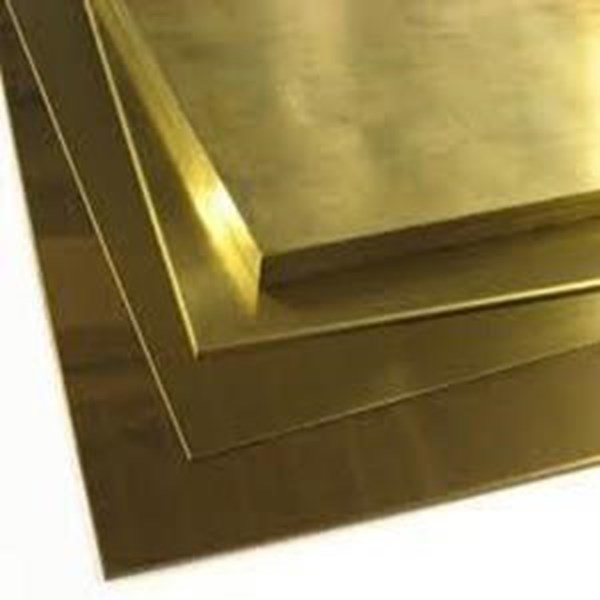Plat Besi Brass