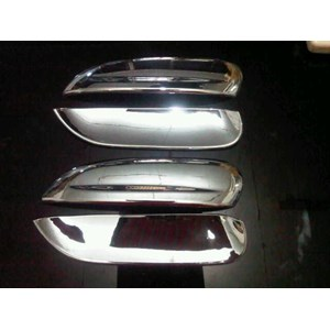 Chrome Door Handle & Bowl Handle Spin