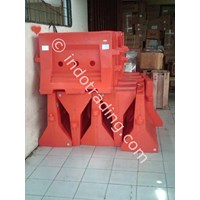 Jual Road Barrier Pelastik Isi Air 2