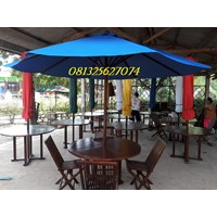 tenda payung taman dan tenda cafe