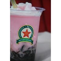 Distributor Minuman Cappucino Cincau Stawberry Taste 3