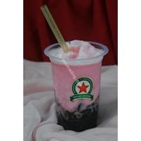 Minuman Cappucino Cincau Stawberry Taste 1