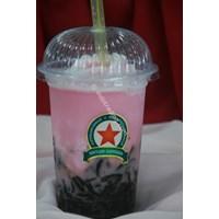 Jual Minuman Cappucino Cincau Stawberry Taste 2