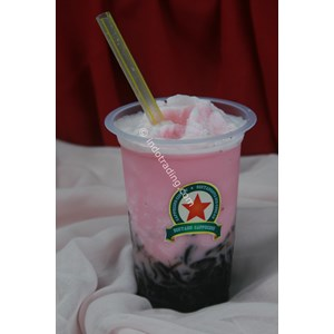 Minuman Cappucino Cincau Stawberry Taste